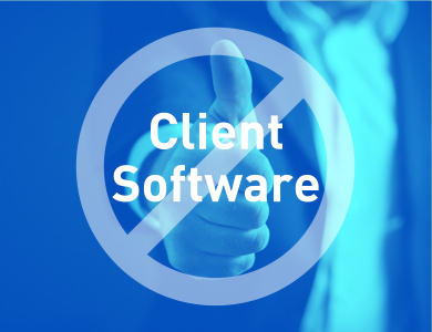 No Client Software