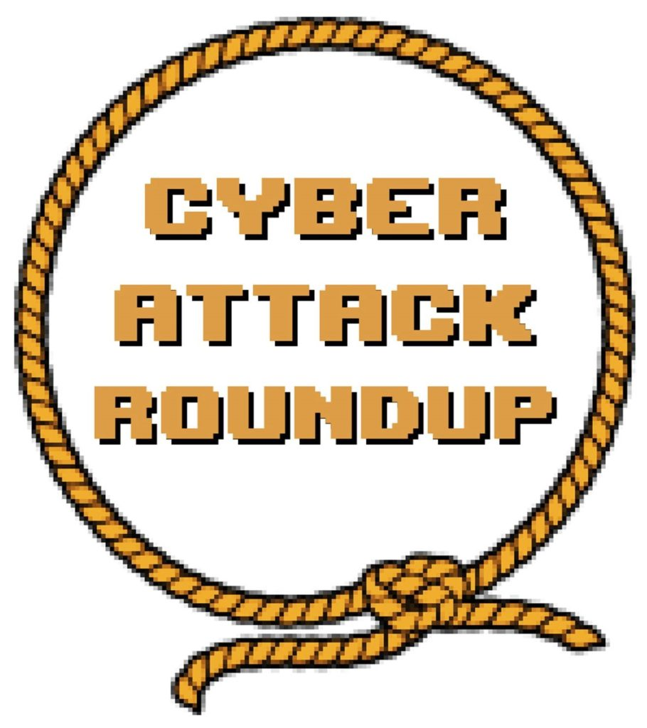 Cyber Attack Roundup lasso surrounding words